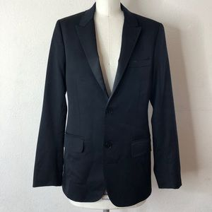 Theory black fitted blazer 36R